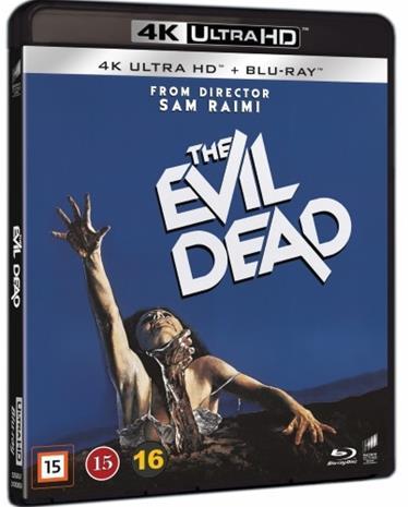 The Evil Dead (1981, 4k UHD + Blu-Ray), elokuva