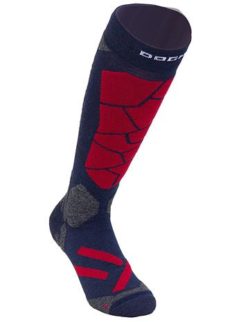 Dogma Socks Snow Leopard Tech Socks mosaic blue / red