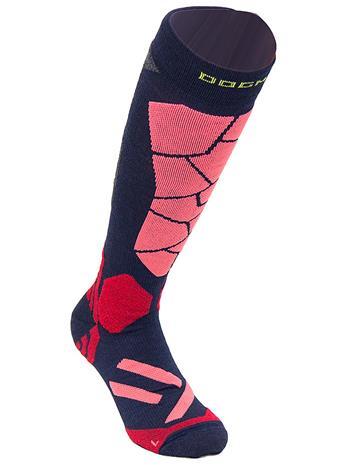 Dogma Socks Snow Leopard Tech Socks mosaic salmon