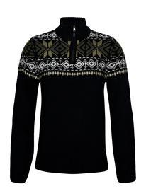Blend Pullover Knitwear Half Zip Jumpers Sininen Blend DARK NAVY