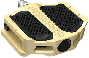 Shimano PD-EF205 Flat Pedals, gold
