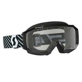 Scott Goggle Hustle MX Enduro Black / White Clear ajolasit