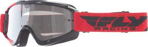 Fly Racing Zone Red/black clearflash ch ajolasit
