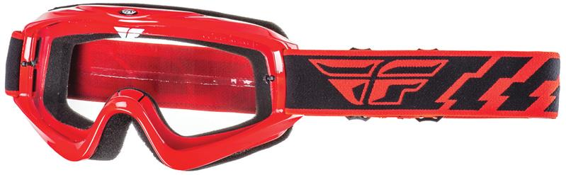Fly Racing Focus Red clear ajolasit