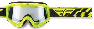 Fly Racing Focus Hi-vis clear ajolasit, Laskettelu ja lumilautailu