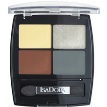 IsaDora Eye Shadow Quartet 5 gr No. 026, Meikit, kosmetiikka ja ihonhoito