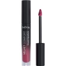IsaDora Velvet Comfort Liquid Lipstick 4 ml No. 058, Meikit, kosmetiikka ja ihonhoito