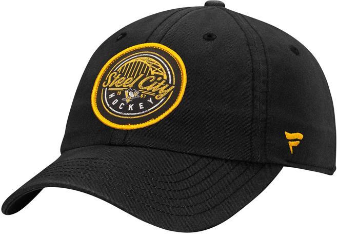 NHL - Pittsburgh Penguins - Hometown -säädettävä lippis - Lippis - Miehet - Musta