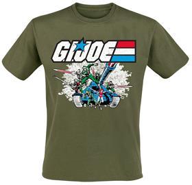 G.I. Joe - Tank - T-paita - Miehet - Oliivi