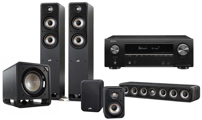Polk Audio Signature 5.1 + AVR-X1600H, kotiteatteri