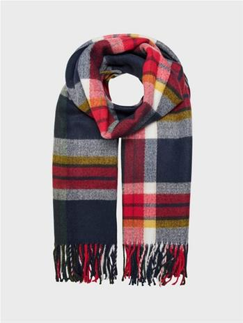 Only Onlscotch Check Weaved Scarf Cc
