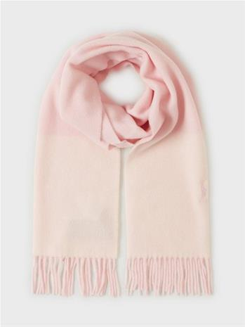 Polo Ralph Lauren Wool Colorbl-Oblong Scarf Creme/Pink