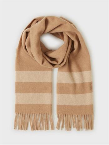 Polo Ralph Lauren Wool Blanket-Oblong Scarf Medium Beige