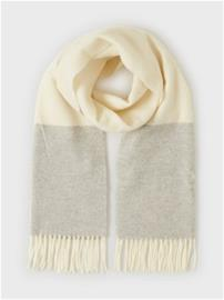 Polo Ralph Lauren Wool Colorbl-Oblong Scarf Natural