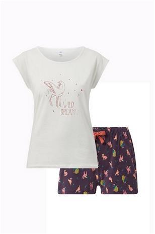 La Redoute Trikoopyjama, jossa painatus