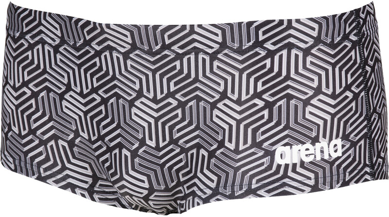 arena Kikko Low Waist Shorts Men, black/multi black