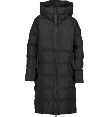 Everest W GRAND LONG COAT BLACK
