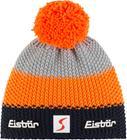 Eisbär Star Tupsullinen pipo SP, dark cobalt/orange mottled/light grey