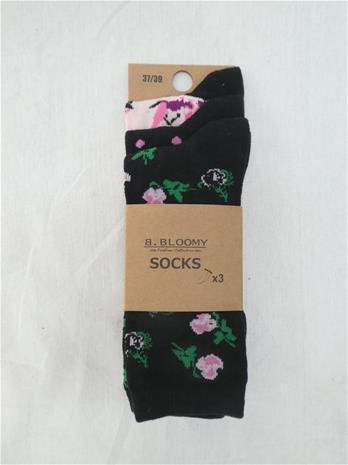 B.bloomy Funny 3-pack naisten sukat