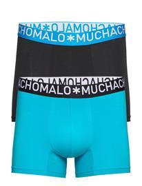 Muchachomalo 1132 Cotton Freezer Solid Bokserit Sininen Muchachomalo LIGHT BLUE/DARK BLUE
