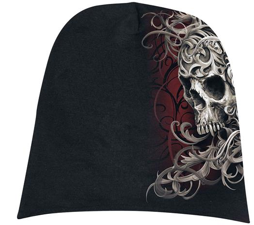 Spiral - Skull Shoulder Wrap - Pipo - Unisex - Musta