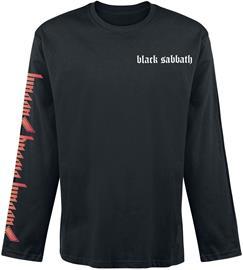 Black Sabbath - Sabbath Bloody Sabbath - Pitkähihainen paita - Miehet - Musta