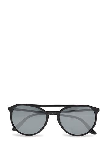 Giorgio Armani Sunglasses 0ar8105 Wayfarer Aurinkolasit Musta Giorgio Armani Sunglasses BLACK