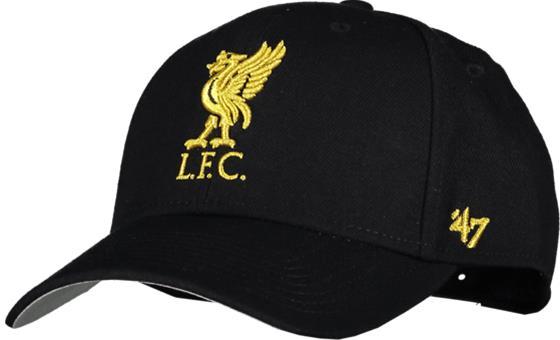 47 Brand LIVERPOOL FC METALLIC SNAP CAP BLACK/GOLD