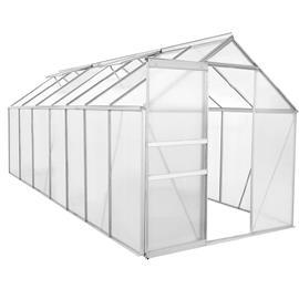 Green Land alumiinirunkoinen kasvihuone 8,2 m² musta