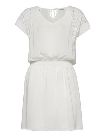SPARKZ COPENHAGEN Petina Dress Polvipituinen Mekko Valkoinen SPARKZ COPENHAGEN OFF WHITE