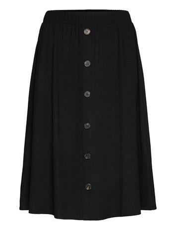 Minus Algarve Skirt Pitkä Hame Musta Minus SORT