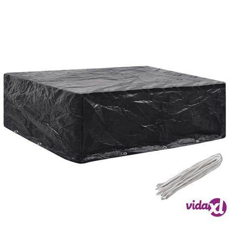 vidaXL Puutarhakalusteiden suoja 8 purjerengasta 250x210x90 cm