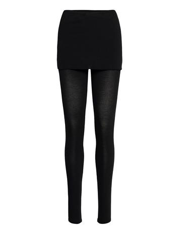 AllSaints Raffi Leggings Leggingsit Musta AllSaints BLACK