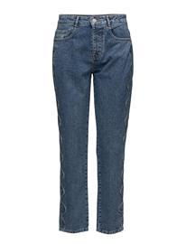 2nd One Brenda 039 Blue Hills Scallop, Jeans Suorat Farkut Sininen 2nd BLUE HILLS SCALLOP