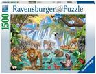 Waterfall Safari, Palapeli, 1500 palaa, Ravensburger