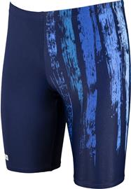 arena Team Painted Stripes Jammer Uimahousut Miehet, navy/multi turquoise