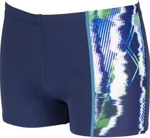 arena Infinite Stripe Shorts Men, navy/multi