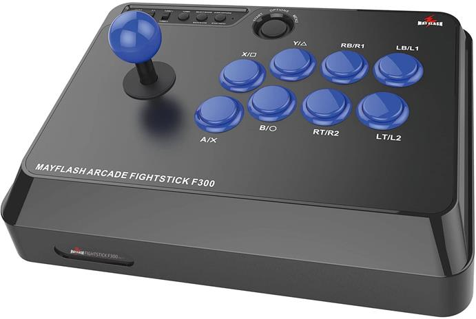 MayFlash F300 Elite Arcade Fightstick, PS4/Xbox One/PC/Nintendo Switch -ohjain