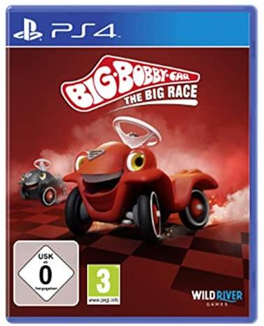 Big Bobby Car: The Big Race, PS4 -peli