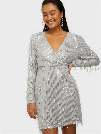 NLY Trend All About Me Fringe Dress