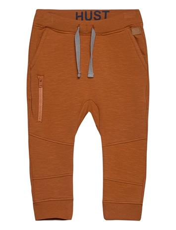Hust & Claire Georg - Jogging Trousers Housut Ruskea Hust & Claire TERRACOTTA