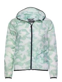 Under Armour Ua Run Anywhere Storm Jkt Outerwear Sport Jackets Sininen Under Armour SEAGLASS BLUE