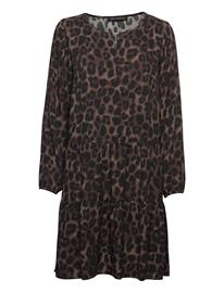 Betty Barclay Dress Short 1/1 Sleeve Polvipituinen Mekko Ruskea Betty Barclay BLACK/BROWN