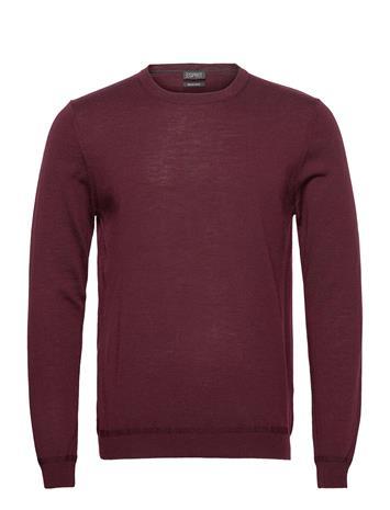 Esprit Collection Sweaters Svetari Collegepaita Punainen Esprit Collection BORDEAUX RED 5