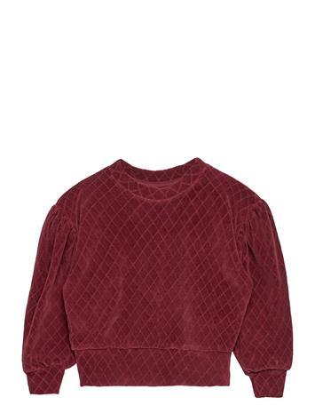 Soft Gallery Geneva Sweatshirt Svetari Collegepaita Punainen Soft Gallery ROSE BROWN