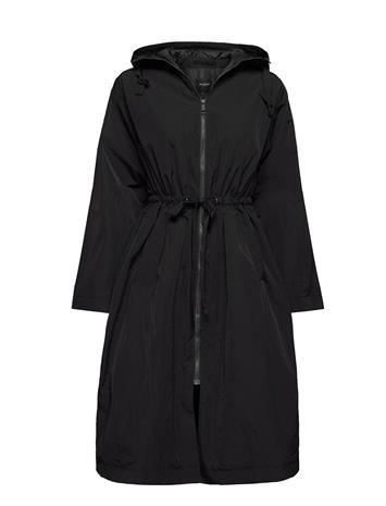 Selected Femme Slfbibba Ls Jacket B Ohut Pitkä Takki Musta Selected Femme BLACK