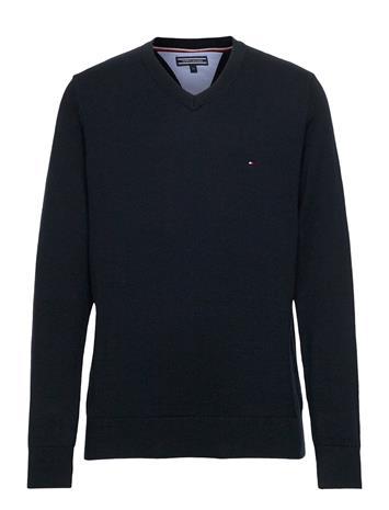 Tommy Hilfiger Boys Basic V-Neck Sweater Svetari Collegepaita Sininen Tommy Hilfiger SKY CAPTAIN