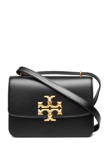 Tory Burch Eleanor Convertible Shoulder Bag Bags Small Shoulder Bags - Crossbody Bags Musta Tory Burch BLACK