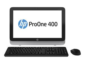 "HP ProOne 400 G1 19.5"" (i3-4160T, 4 GB, 500 GB HDD, Win 10), pöytäkone"