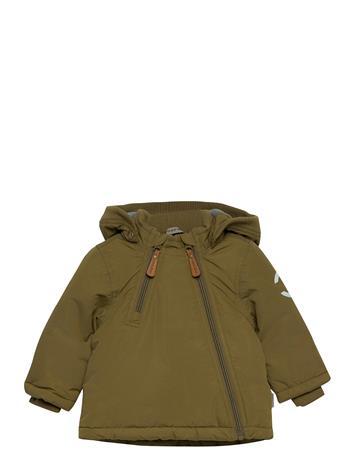 Mikk-Line Nylon Baby Jacket - Solid Toppatakki Vihreä Mikk-Line MILITARY OLIVE